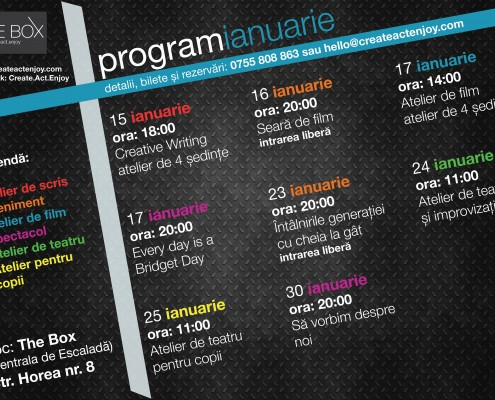Program Ianuarie