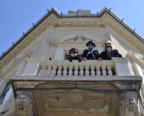 Cum se vede o zi obişnută de la balconul The Box  (foto credit: Ania Ciotlăuş)
