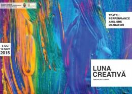 Luna Creativă, 8 octombrie - 13 noiembrie