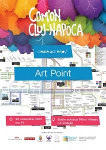 Art Point (30 noiembrie 2015, staţia I. P. Voiteşti)