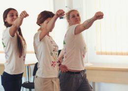 Ateliere de terapie rpin artă (foto credit: Ioana Ofelia)