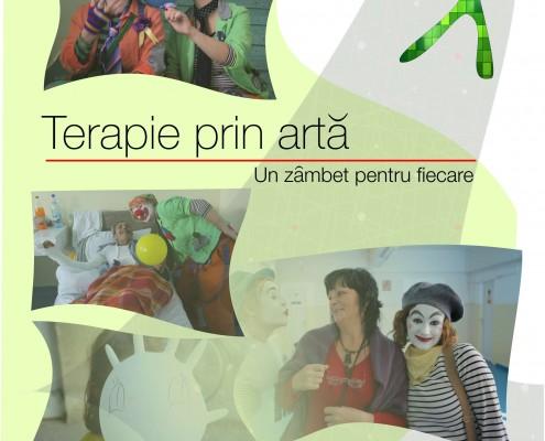 Afiș Terapie prin artă - Un zâmbet pentru fiecare