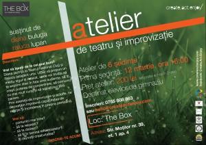 Atelier teatru și improvizație - elevi de gimnaziu