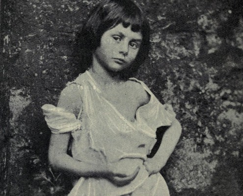 Alice Liddell as 'The Begger Child' by Charles Dodgson