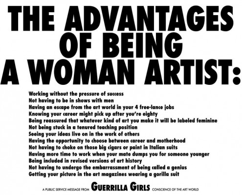 Guerrila Girls poster