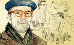 David Mamet - ilustraţie de Agata Marszalek