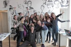 Atelier de teatru şi improvizaţie susţinut de Raluca Lupan şi Diana Buluga