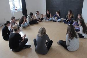 Atelier de teatru susţintut de actorii Create.Act.Enjoy
