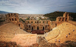The Odeon of Herodes Atticus, Greece  (sursa: www.telegraph.co.uk)