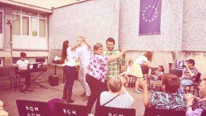 Ziua muzicală la Spitalul Clinic de Recuperare, Cluj-Napoca (Un + De Fericire, 22 iulie) foto credit: Diana Buluga